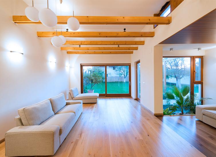 Avantaje case din lemn