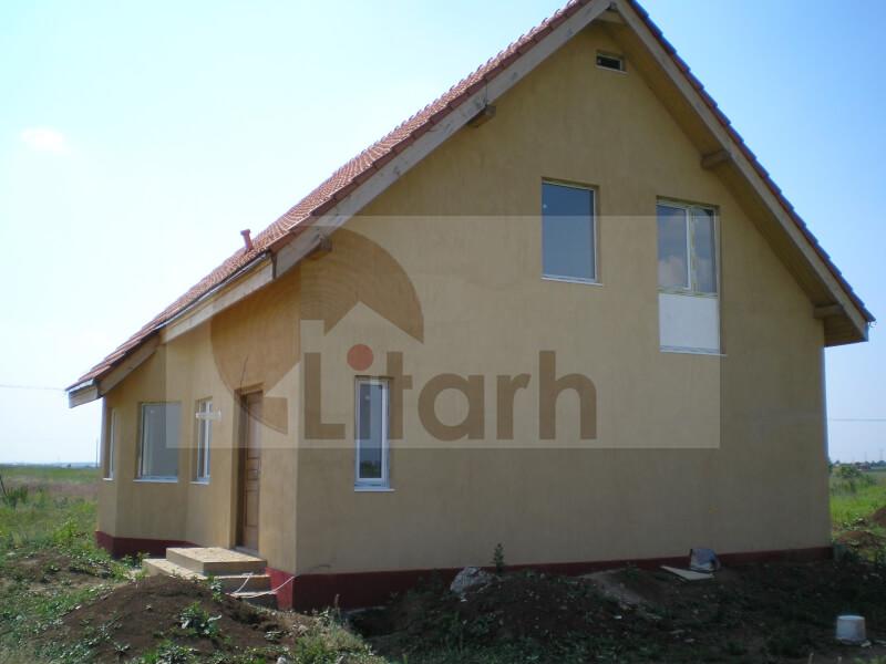 Casa de lemn balotesti