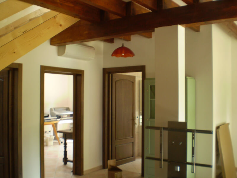 Casa de lemn cento-ferarra
