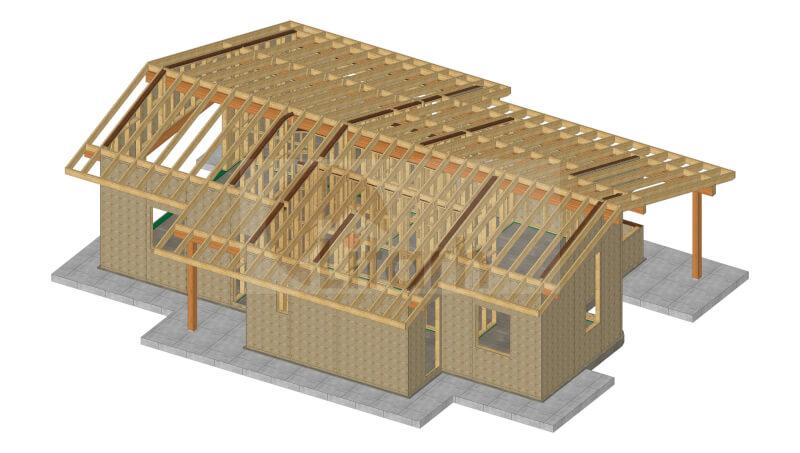 Casa de lemn cherasco