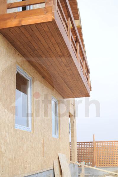 Case din lemn Chiajna, Romania