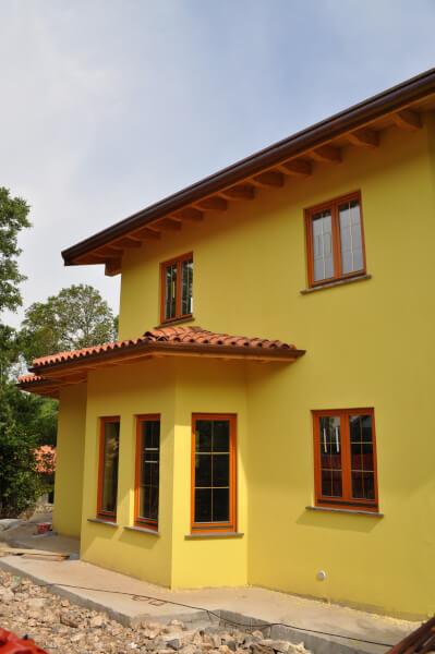 Casa de lemn duino