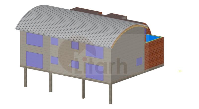 Casa de lemn durler