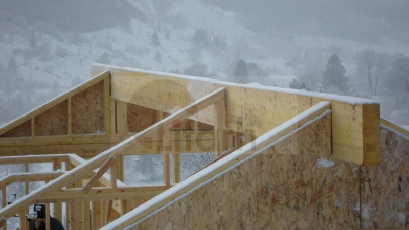 Casa de lemn etne