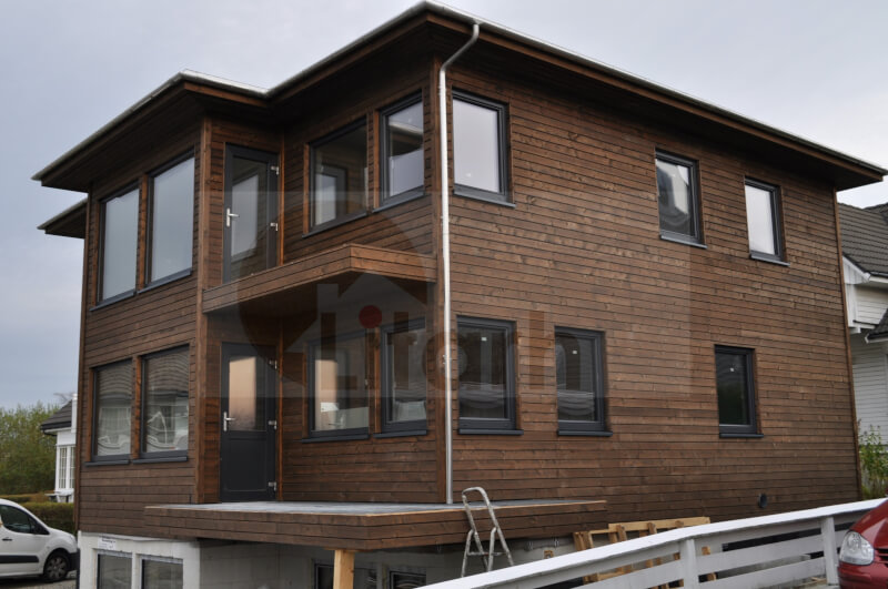 Casa de lemn madla
