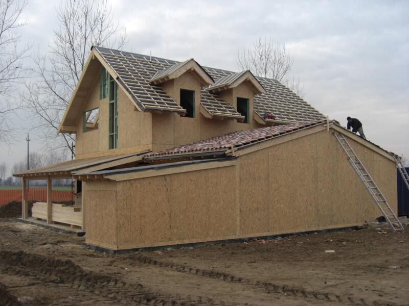 Casa de lemn milano