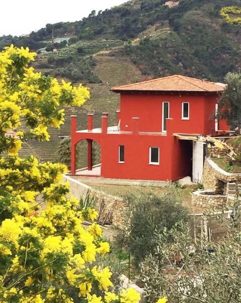 Case din lemn Soldano - Perinaldo, Italia